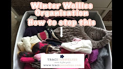 Winter Woollies Organisation, Hats, Scarfs and Gloves
