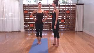The Yoga Collective - Lauren Eckstrom - Hand to Big Toe Pose (Variation 2)