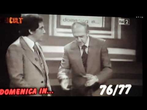 CORRADO presenta DOMENICA IN  prima edizione 197677