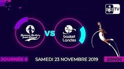LFB Journée 6 : Saint-Amand - Basket Landes