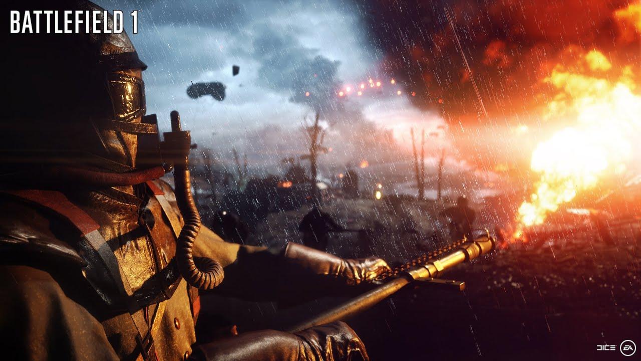 battlefield 1 official reveal trailer youtube