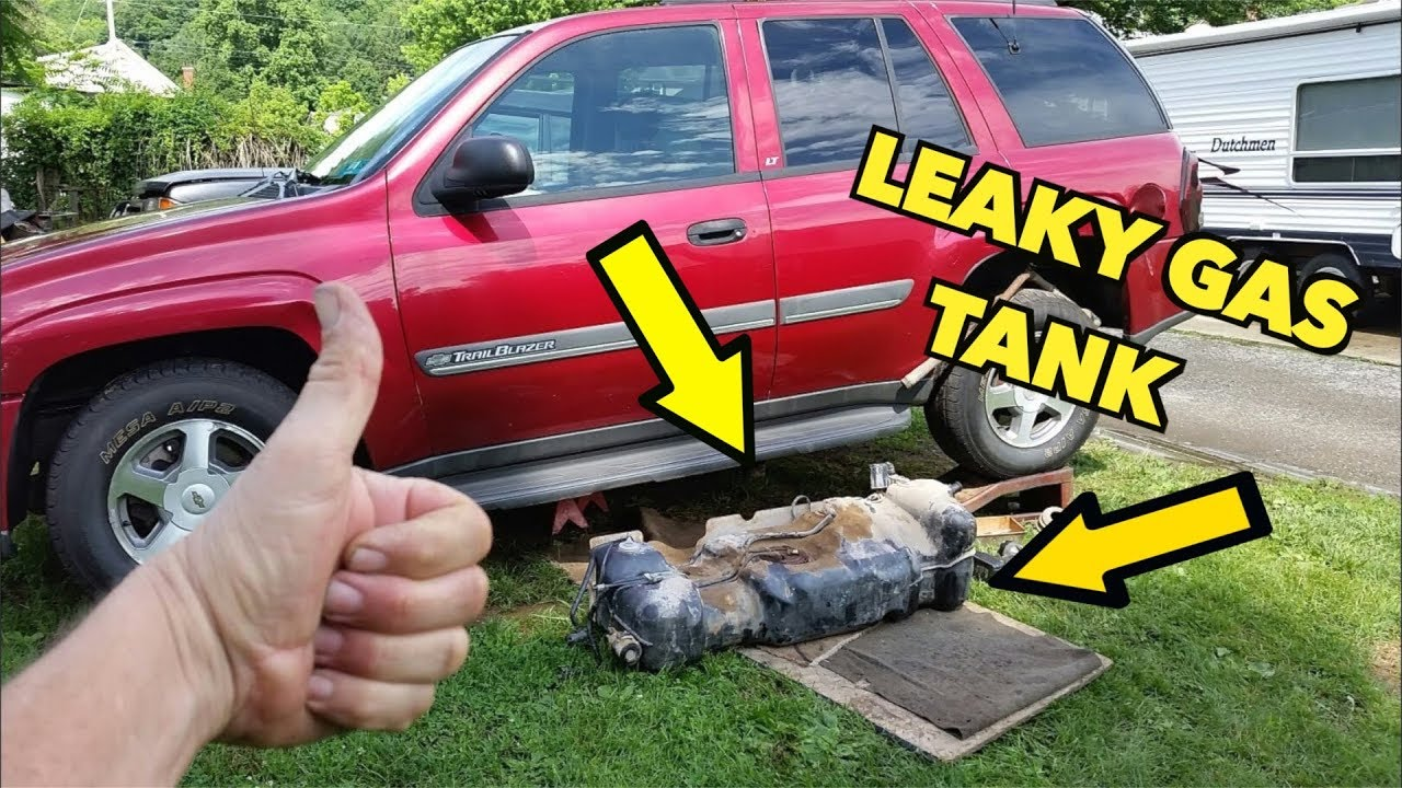 hight resolution of 2002 trailblazer gas tank removal quick and dirty