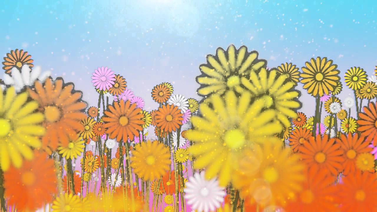 Spring Flower Garden Animation Youtube