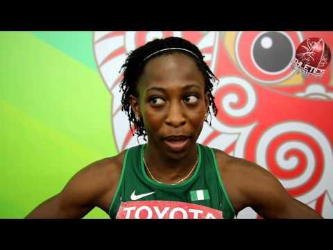 Interview with Uhunoma Osazuwa - 2015 African Games Heptathlon Champion
