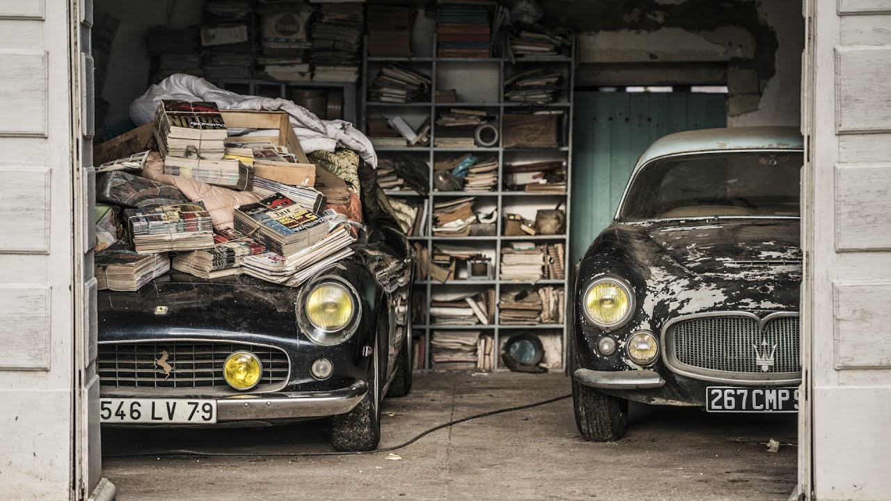 Sixty Lost Vintage Cars Discovered In French Barn