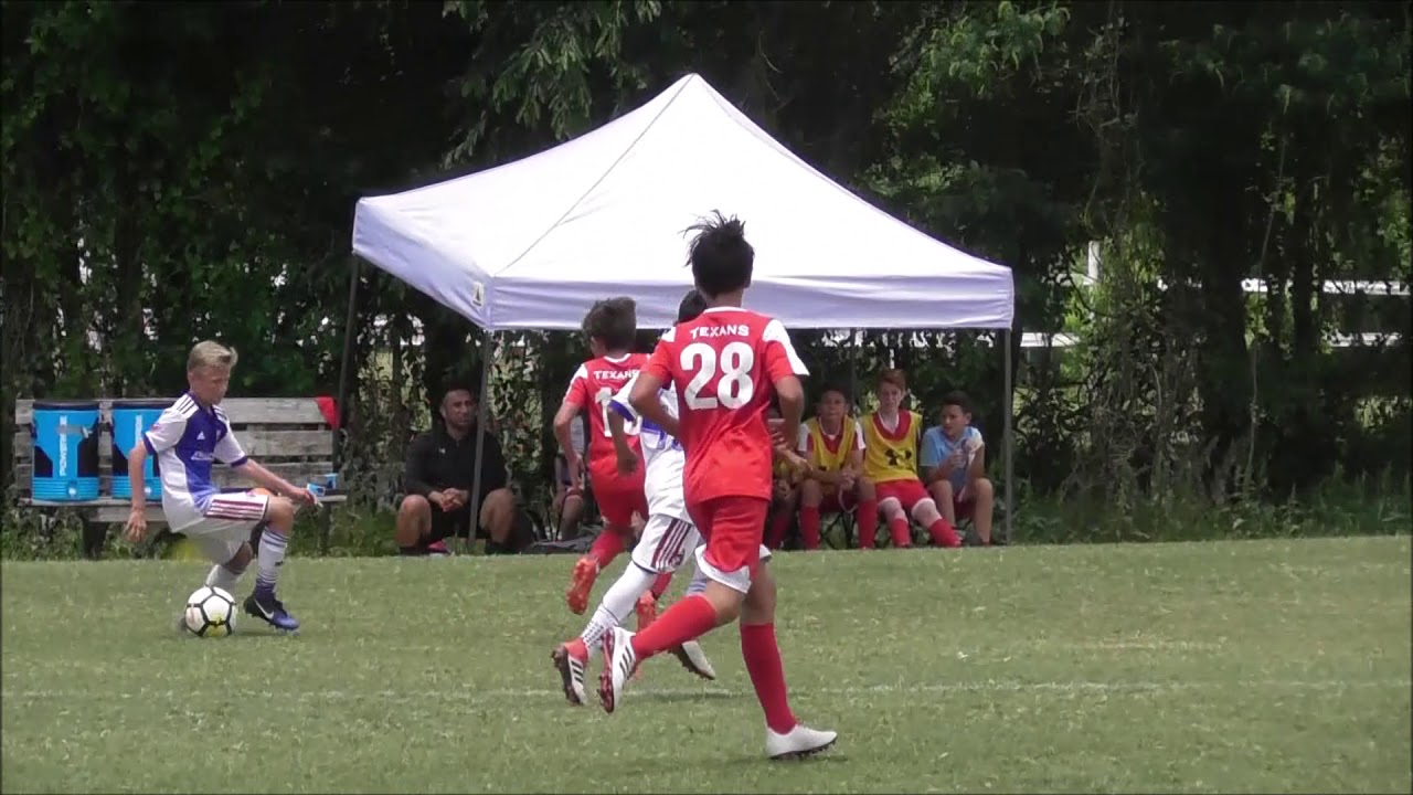 best sneakers 8d445 543c5 USSDA U13 Texans SC Houston - FC Dallas Academy highlights May 13 2018.