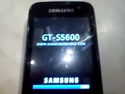 Samsung S5600 without IMEI / brak IMEI