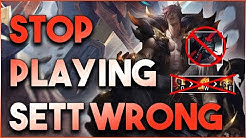 Stop Playing Sett Wrong... How Pros And High Elo Players Are Dominating With Him In Season 10