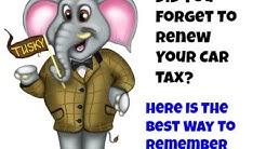 I forgot To Renew My Car Tax - Remember My Car Tax