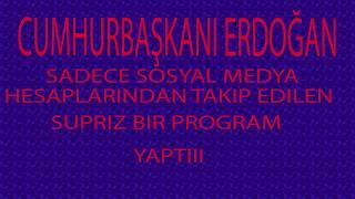 Cumhurbaşkanı Erdoğan, resmi Twitter hesabından merak uyandıran