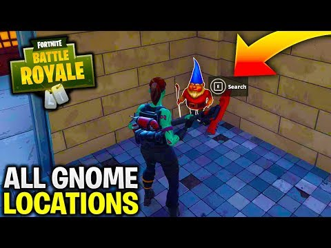 "ALL ""Search the Hidden Gnome in Different Named Locations"" in Fortnite (Week 7 All Gnome Locations)"