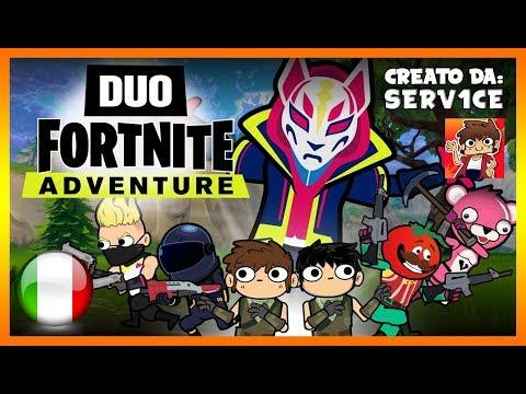 Duo FORTNITE Adventure (Parte 1) | SERV1CE - DOPPIAGGIO ITA
