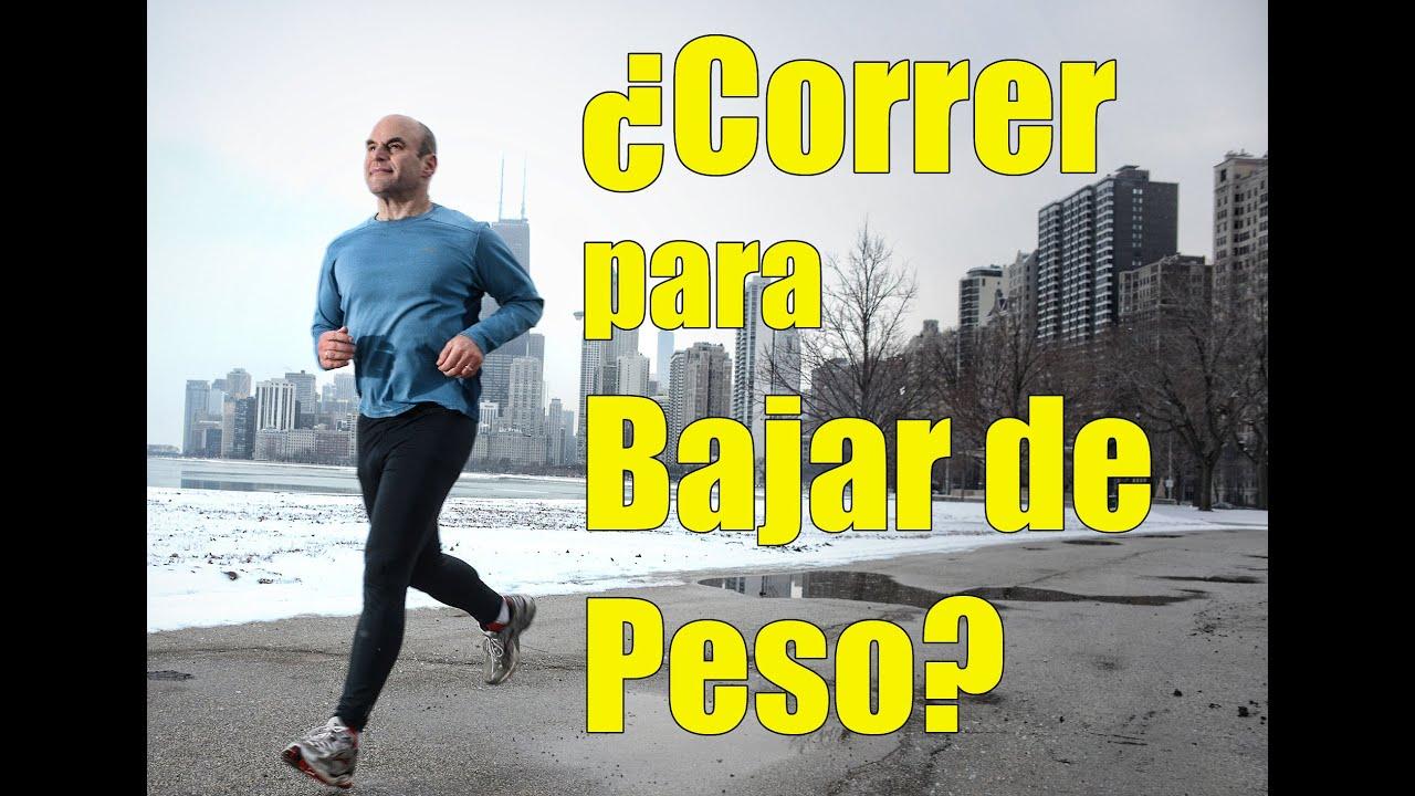 bajar de peso correr