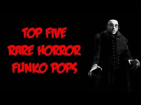Top 5 Rare Horror Funko Pops!