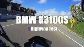 BMW G310GS Highway Test