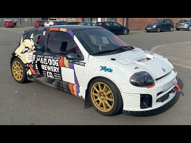 Mad Dog Brewery - Renault Clio V6  - Full Colour 3M Printed Reflective Wrap