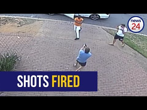 WATCH | Shootout outside Lonehill home in Johannesburg, no injuries reported
