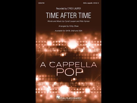 Time After Time (SAB) - Arranged by Kirby Shaw