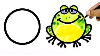 13 Drawings From Circle for KIDS | Kids  Drawings |  13 Drawings Kids can Learn | Kids can Draw