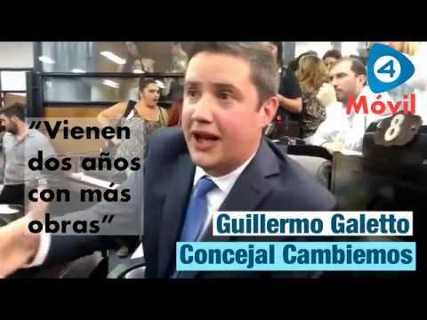Quilmes: Guillermo Galetto asumió como concejal y fue entrevistado por Cuatro Medios
