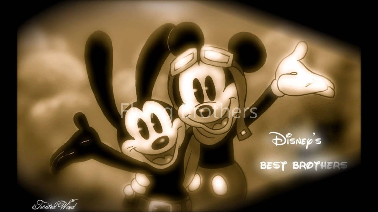 Oswald the lucky rabbit and his little brother Mickey Mouse ...