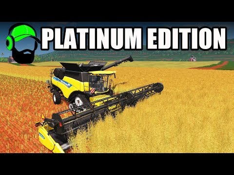 Farming Simulator 17 - Platinum Map - Doing work