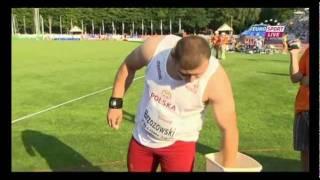 Shot Put Men Final (21st European Athletics Junior Championships 2011, Tallinn)