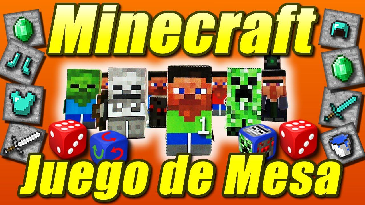 Juego De Mesa Inspirado En Minecraft Como Se Hace Youtube