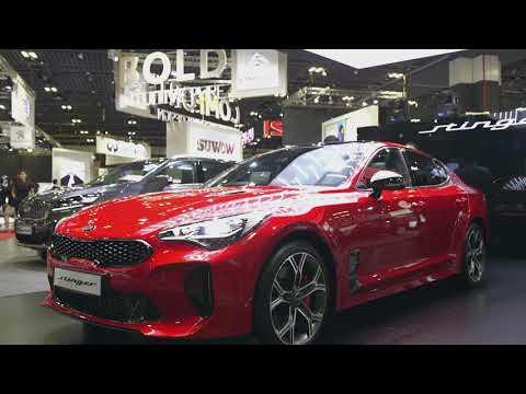 Kia Stinger launch @ 2018 Singapore Motorshow