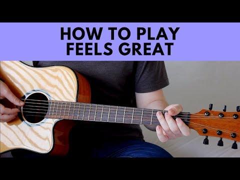 How To Play Feels Great - Cheat Codes (feat. Fetty Wap & CVBZ) Guitar Tutorial