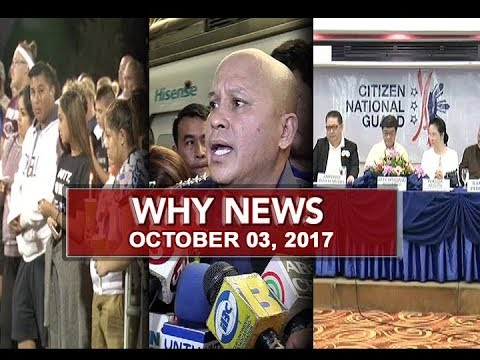 UNTV: Why News (October 03, 2017)