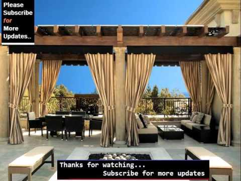 Pergola Curtains | Pergola Design Pic Collection - YouTube