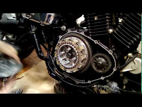 Clutch Burned Out Suzuki Desperado VZ 400 - 800 Marauder