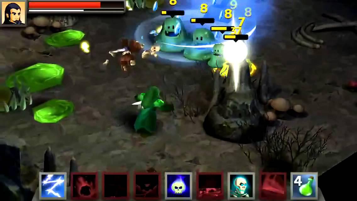 Battleheart Legacy Wizard Gameplay 1 Youtube