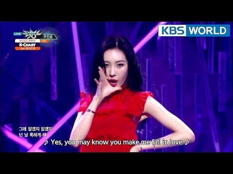 [Music Bank K-Chart] 3rd Week of January - SUNMI, INFINITE (2018.01.19)