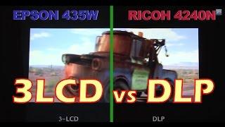 Projector Review (3LCD vs DLP short-throw projectors)