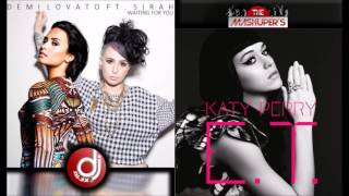 Demi Lovato & Sirah Vs. Katy Perry - Waiting For E.T. (Dj Alex Mash Up)