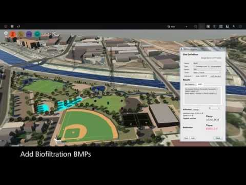 Green Stormwater Infrastructure Extension For Autodesk InfraWorks: Los Angeles Case Study
