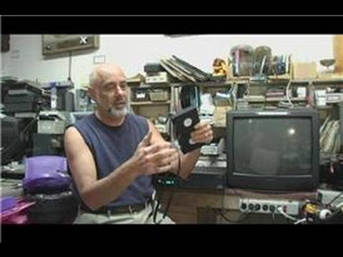 VHS & VCR Repair : How to Fix a Damaged VHS Tape