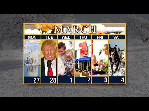 Calendar: Week of February 27