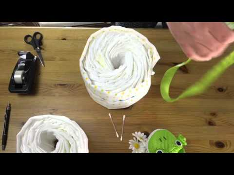 How To Make Simple Nappy Cake