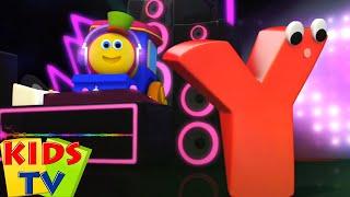 Bob si Kereta Lagu | Video pendidikan | Fonik huruf Y | Prasekolah | Kids Tv Indonesia | Lagu Anak