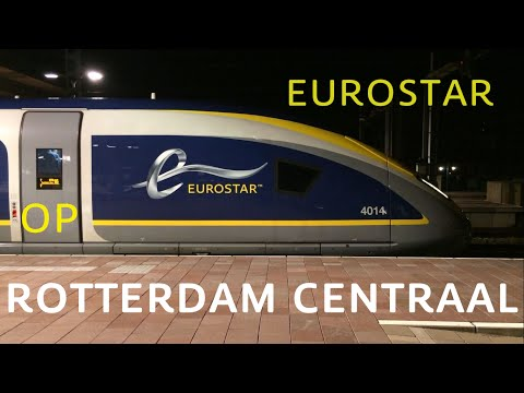 Eurostar Train E320 4013-4014 at Rotterdam Central Station