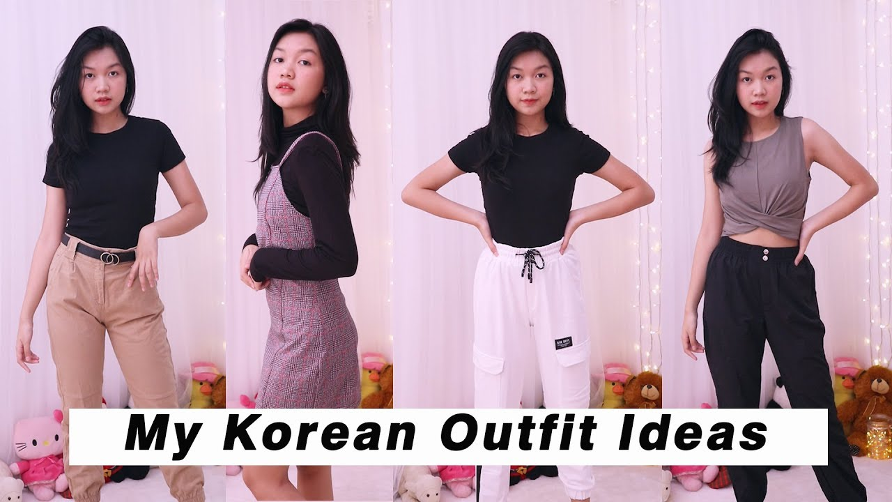 KOREAN OUTFIT IDEAS || Desty Yufenti 1