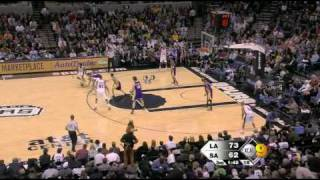 12 03 2009 spurs lakers  lakers highlights