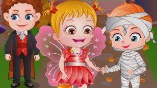Baby Hazel Game Movie - Baby Halloween Party Episode - Dora The Explorer