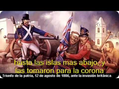 Admiral Brown Wolfe Tones MALVINAS ARGENTINAS