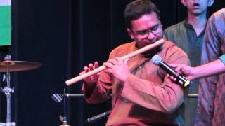 ISA Diwali 2013 | Indian National Anthem - Flute  | Cam 1