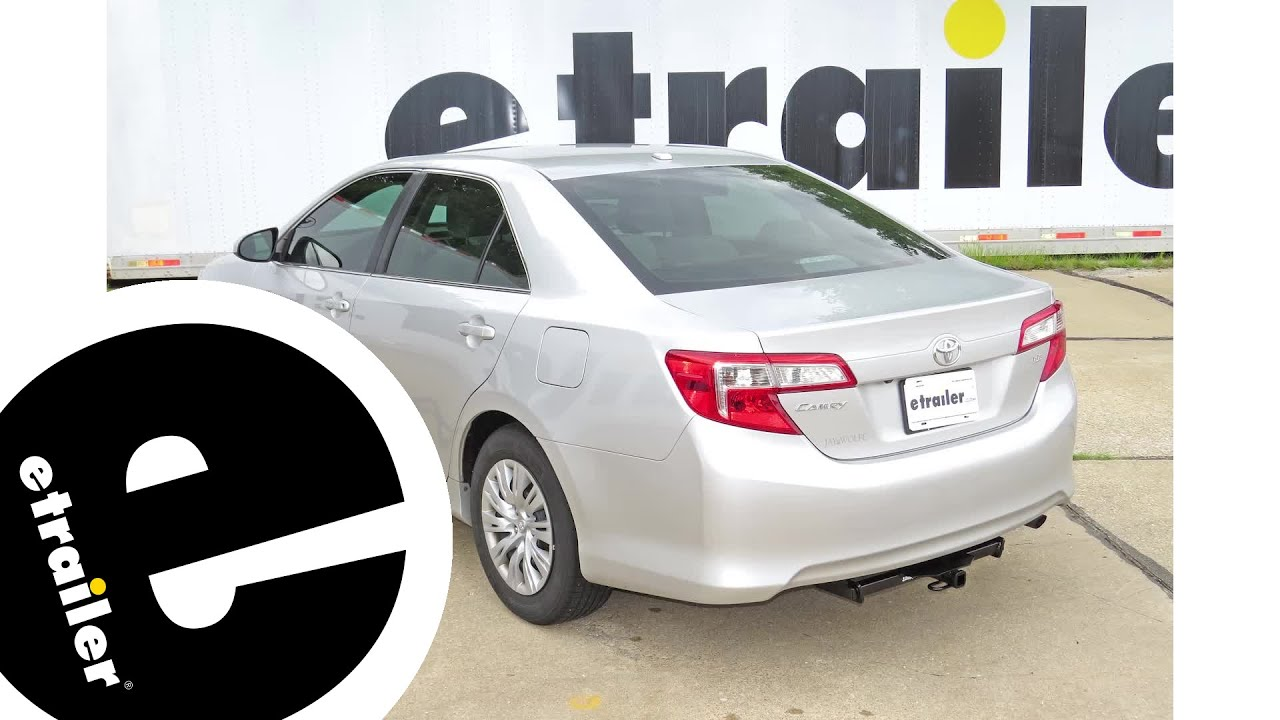 Trailer Hitch Installation - 2014 Toyota Camry - Draw-Tite ...