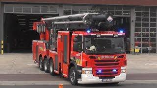 Brandweer Antwerpen rukt met spoed uit voor Industriebrand in de Haven! #930